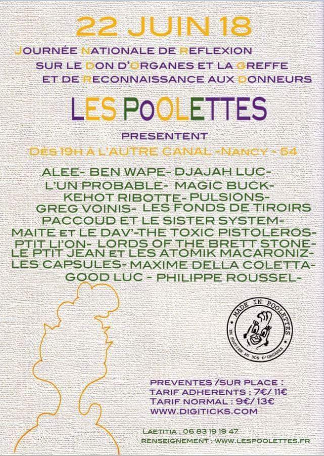 2018.06.22   Poolettes